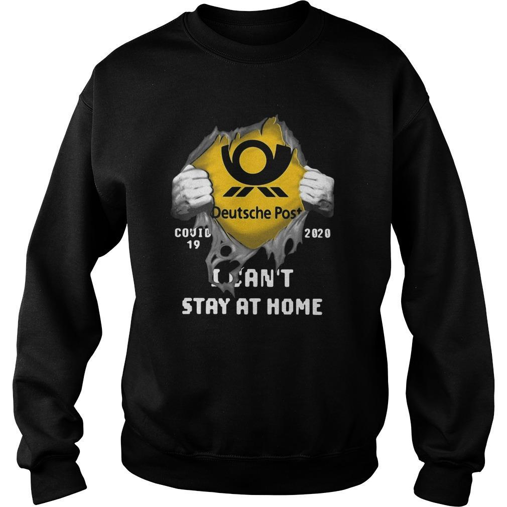 Deutsche Post Covid 19 2020 I Can't Stay At Home Sweater