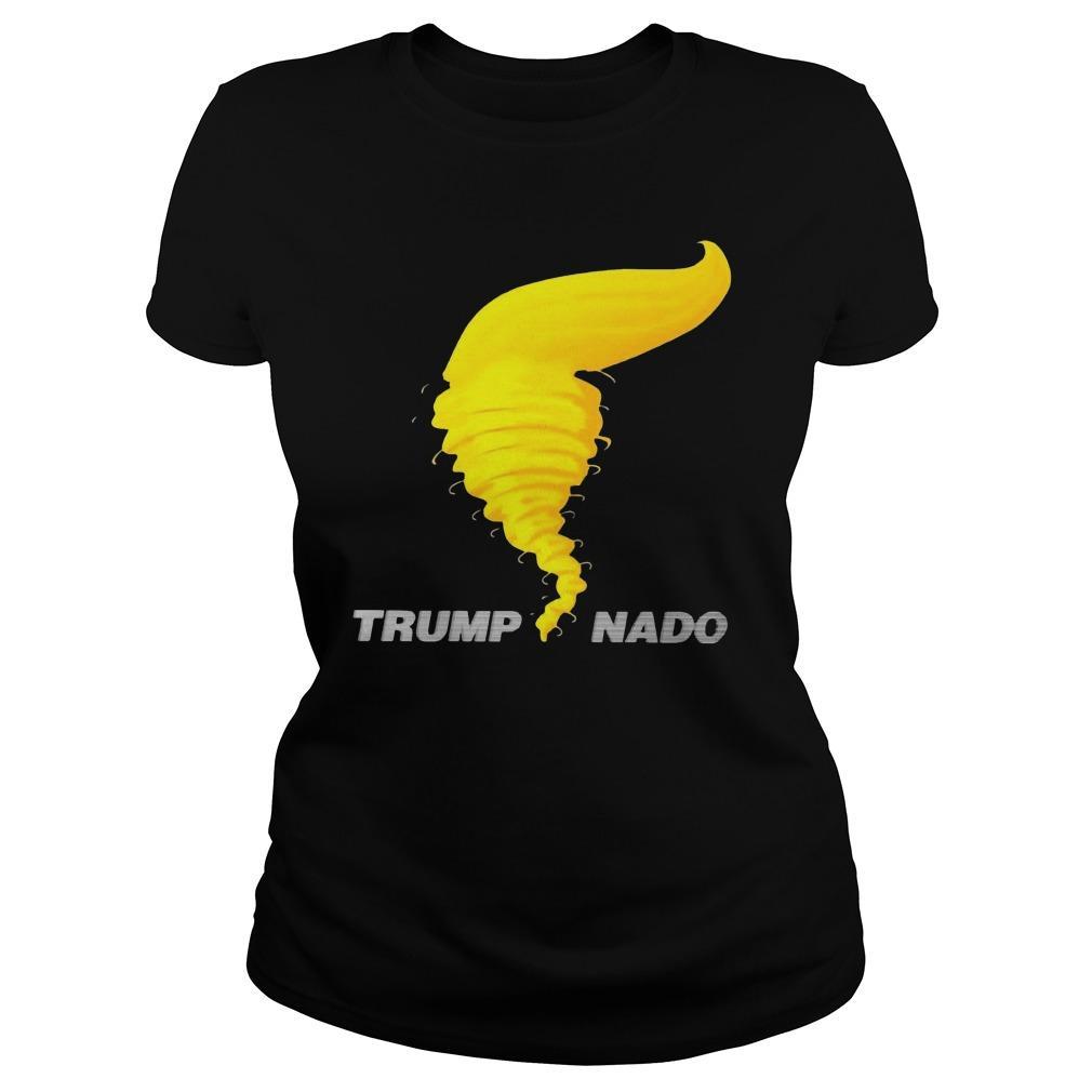 Donald Trump Tornado Trump Nado Longsleeve