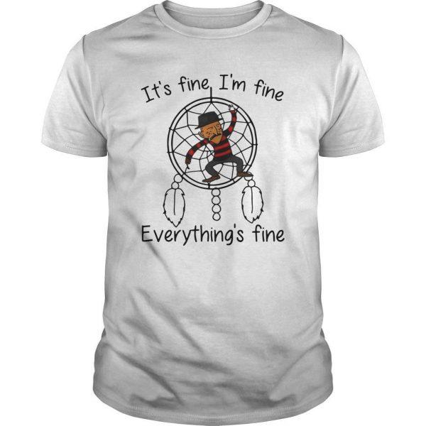 Dreamcatcher It's Fine I'm Fine Everything's Fine Shirt