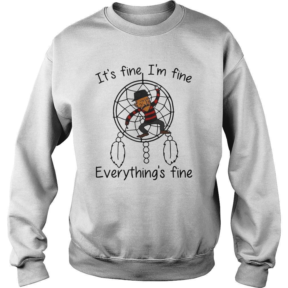 Dreamcatcher It's Fine I'm Fine Everything's Fine Sweater