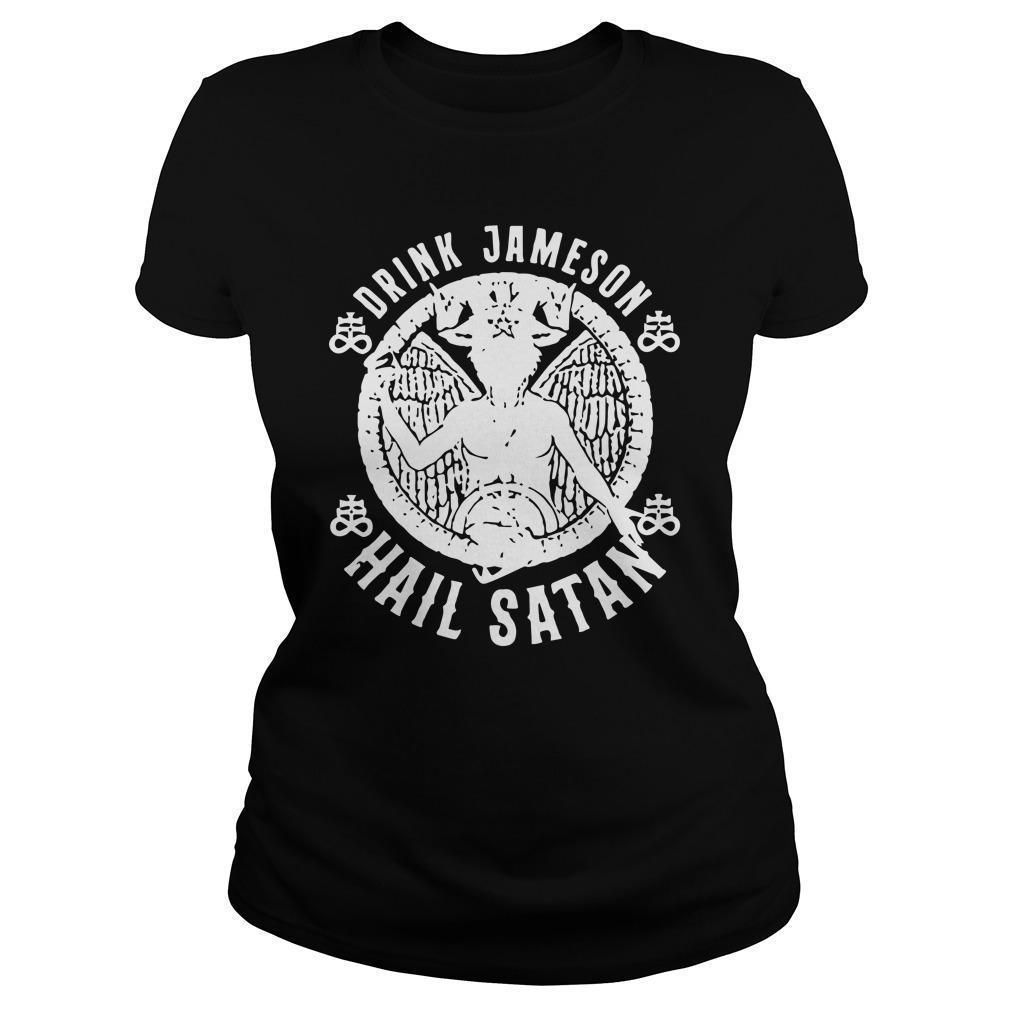 Drink Jameson Hail Satan Longsleeve