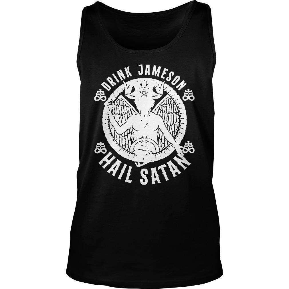 Drink Jameson Hail Satan Tank Top