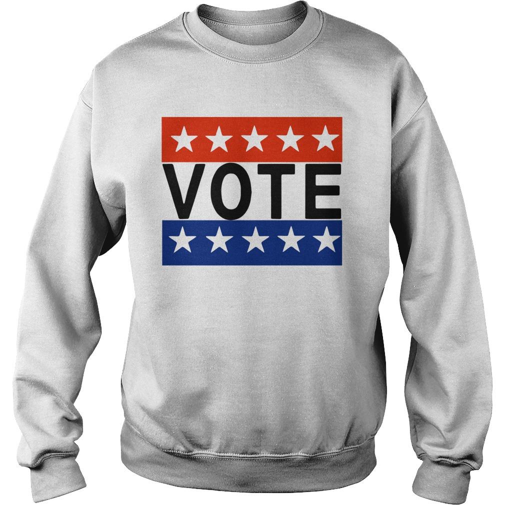 Election Day Rock The Vote T Sweater