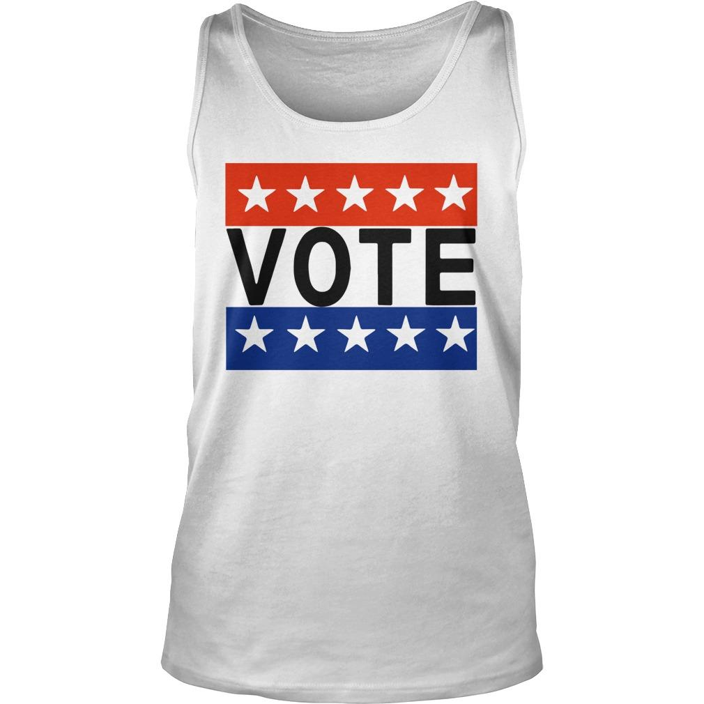 Election Day Rock The Vote T Tank Top