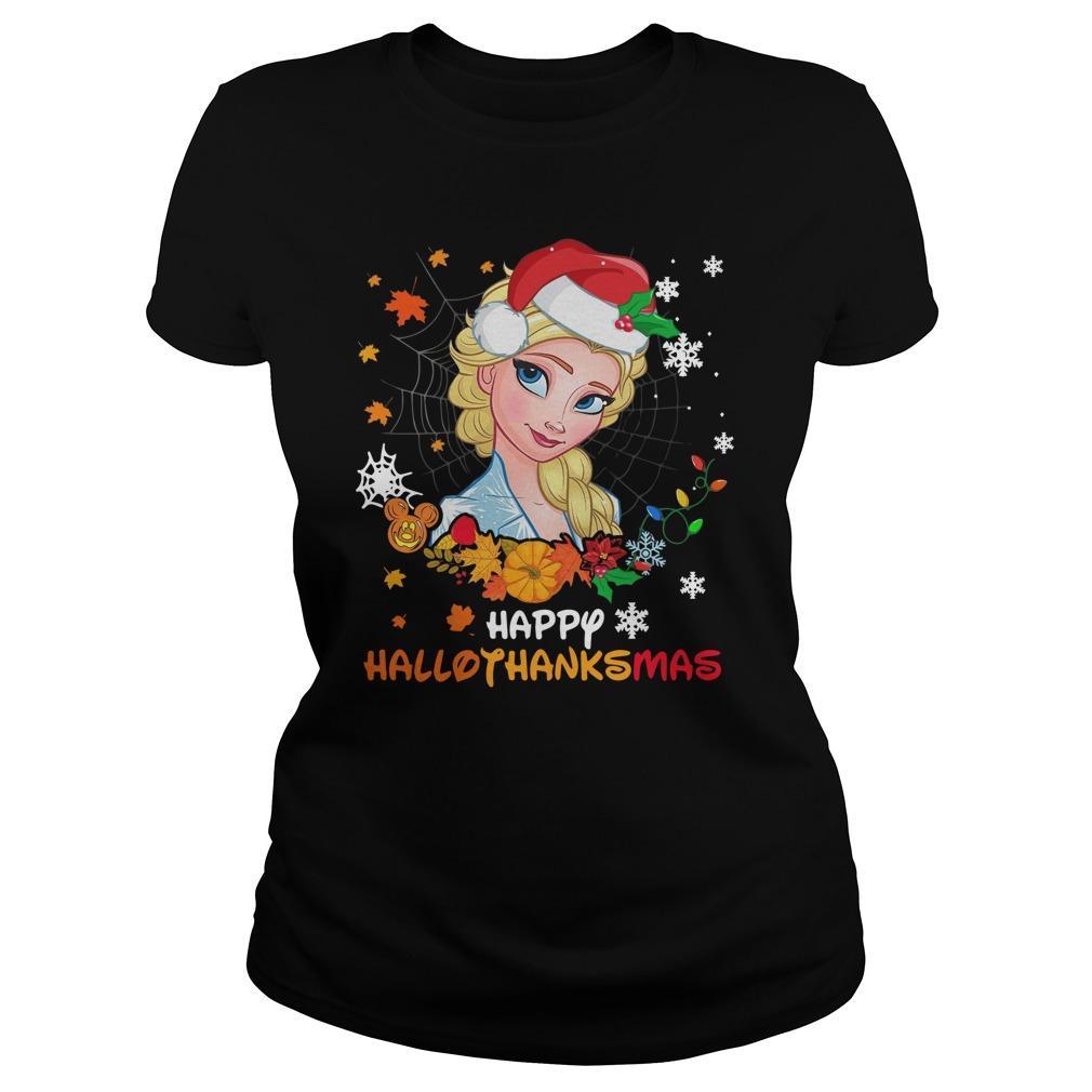 Elsa Happy Hallothanksmas Hoodie