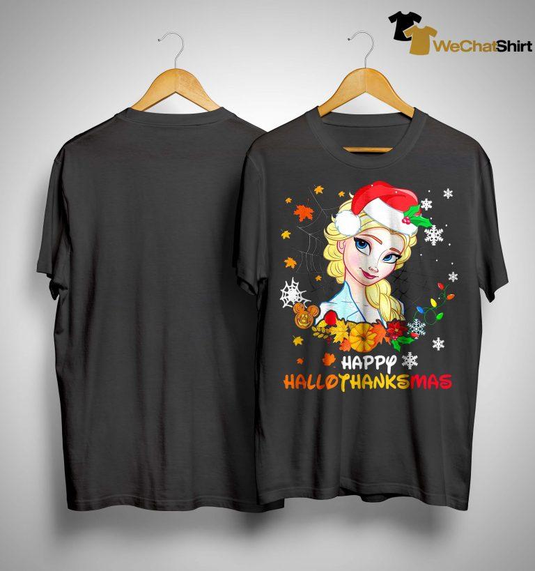 Elsa Happy Hallothanksmas Shirt