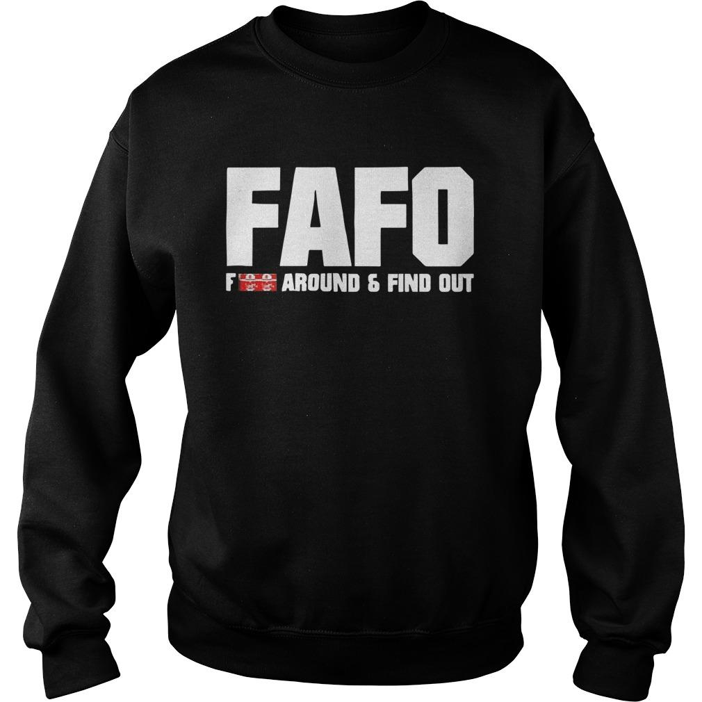 Fafo Fuck Around And Find Out Sweater