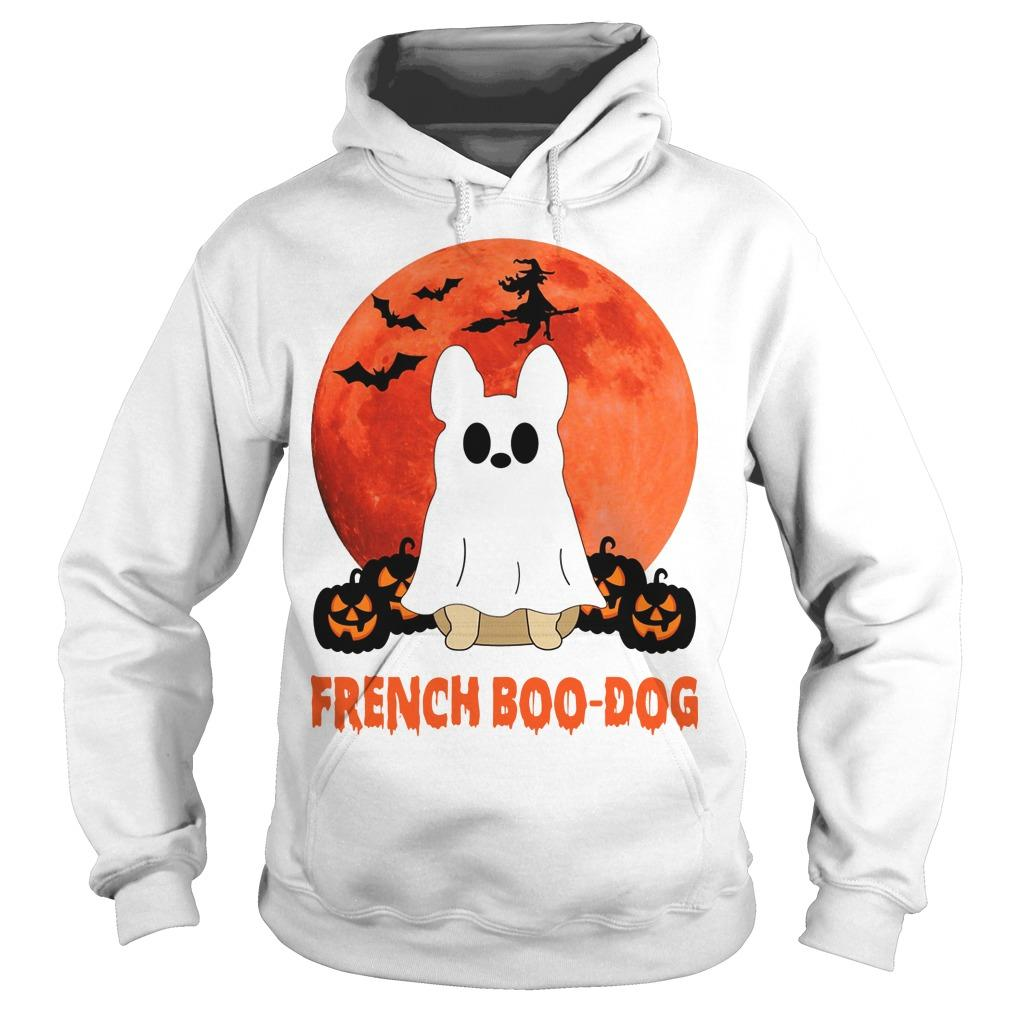 Halloween French Boo Dog Hoodie