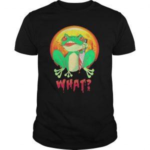 Halloween Michael Myers Frog What Shirt