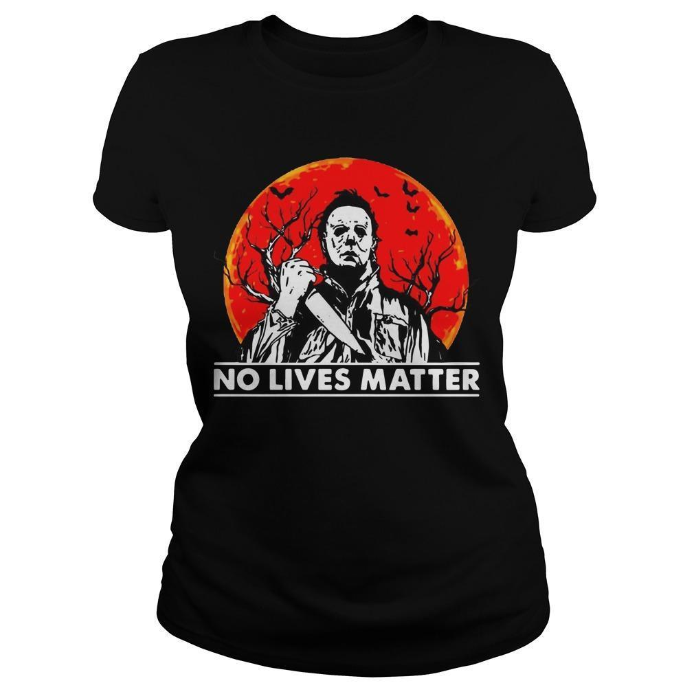 Halloween Michael Myers No Lives Matter Longsleeve