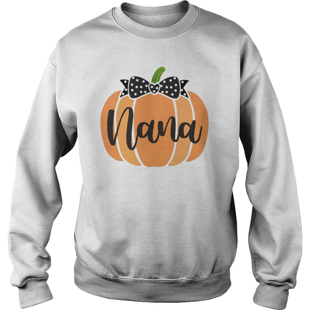 Halloween Pumpkin Nana Sweater