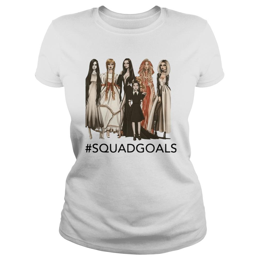 Halloween Samara Annabelle Morticia Squad Goals Sweater