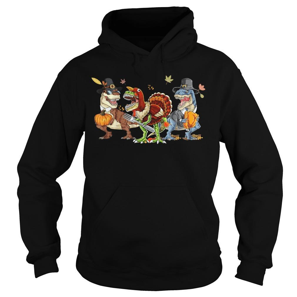 Halloween Three Dinosaur Costume Hoodie