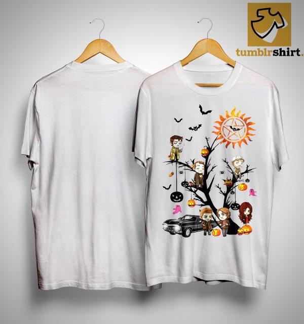 Halloween Tree Supernatural Shirt