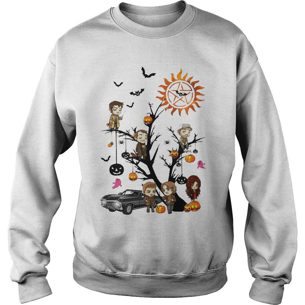 Halloween Tree Supernatural Sweater
