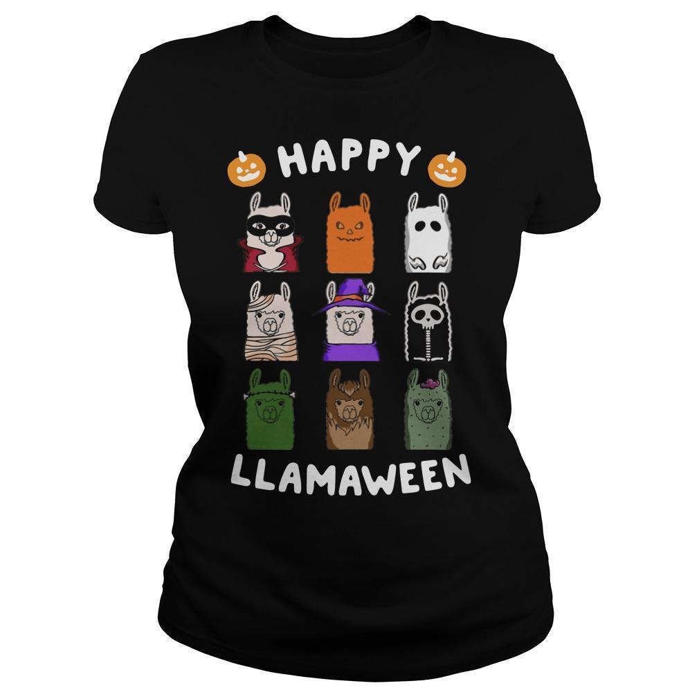 Happy Llamaween Longsleeve