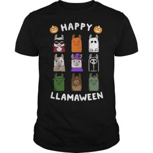 Happy Llamaween Shirt