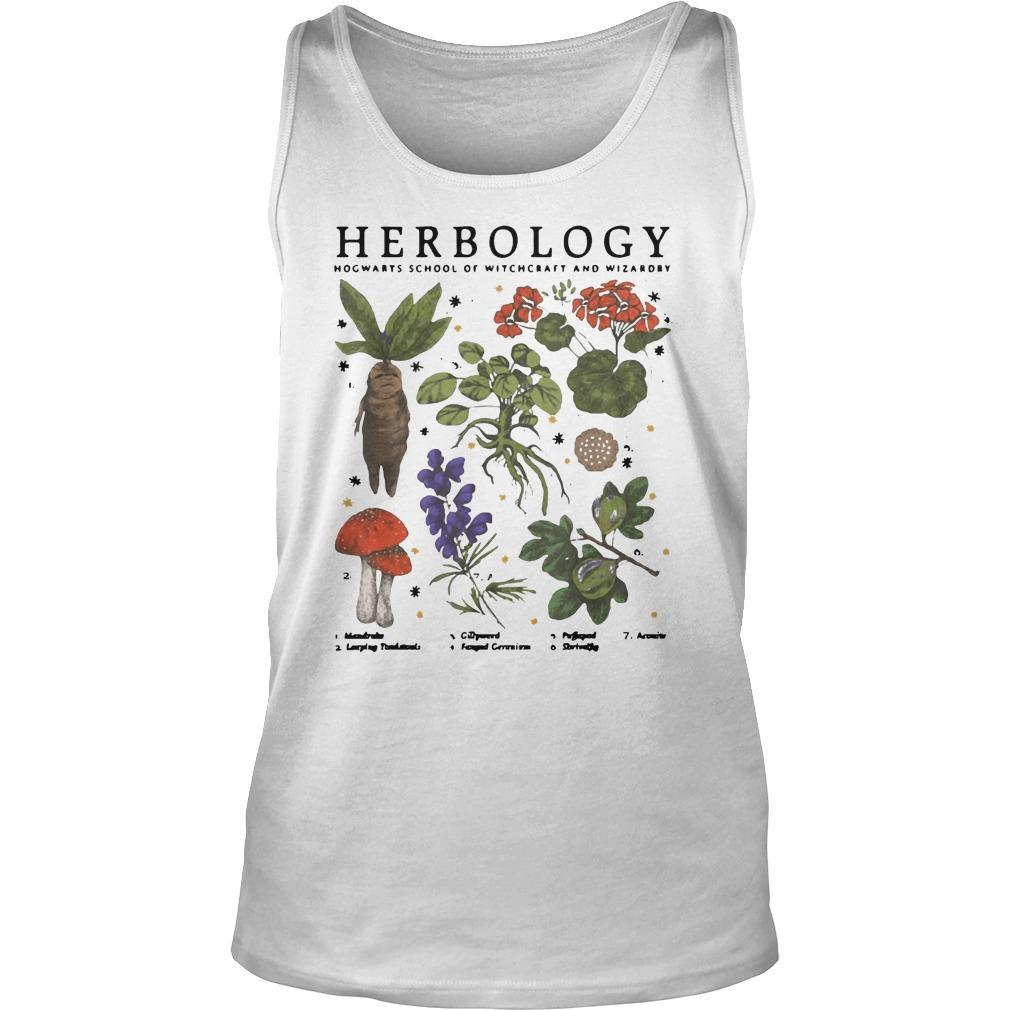Herbology Hogwarts School Of Witchcraft And Wizardry Tank Top
