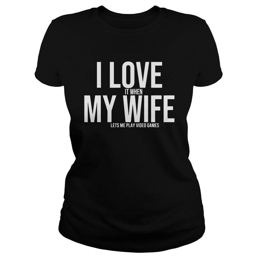 I Love My Wife Mike Evans Longsleeve