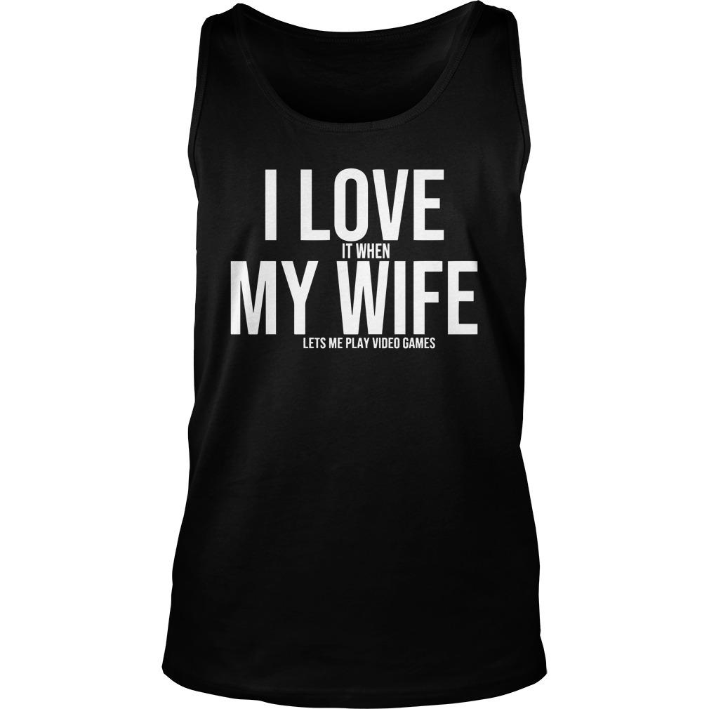 I Love My Wife Mike Evans Tank Top