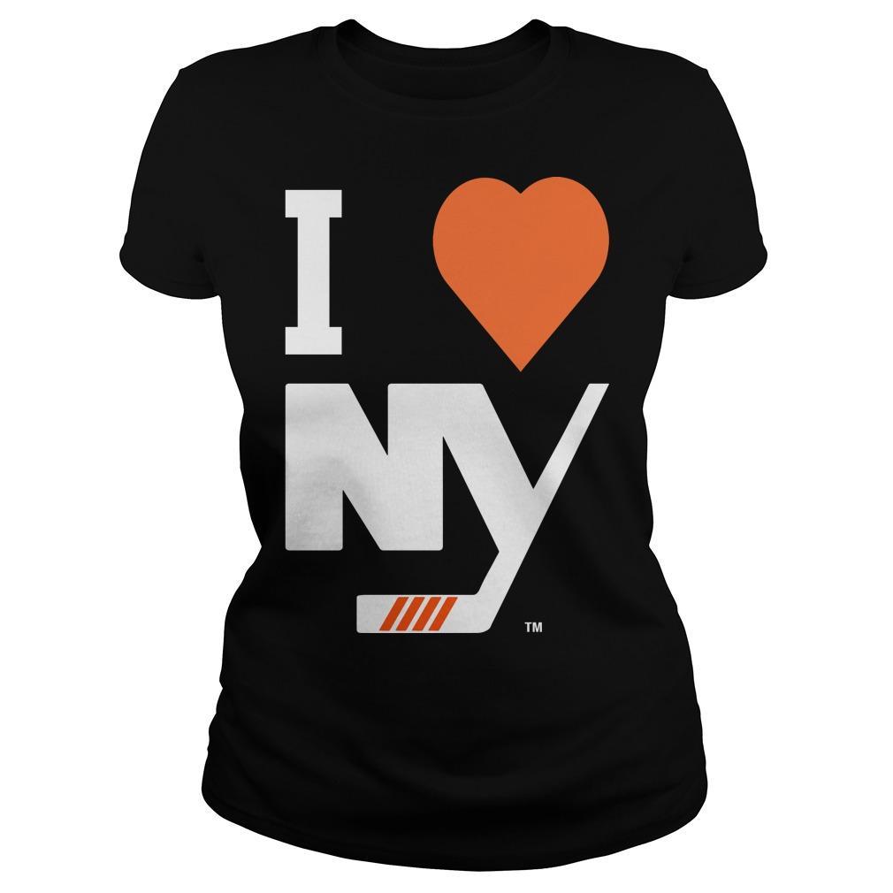 I Love New York Islanders Longsleeve