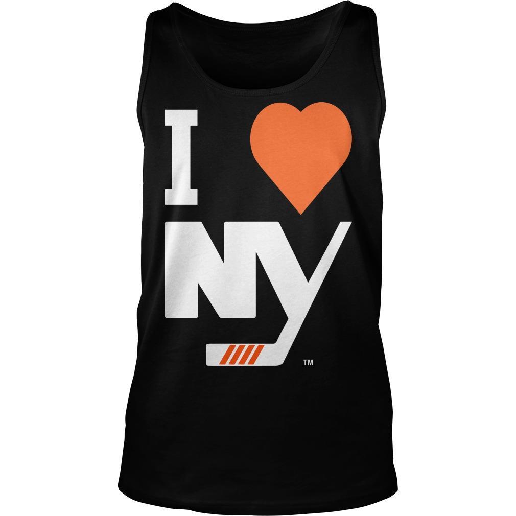 I Love New York Islanders Tank Top