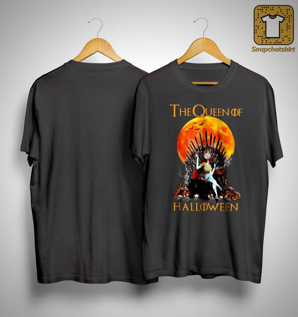 Iron Throne The Queen Of Halloween Shirt