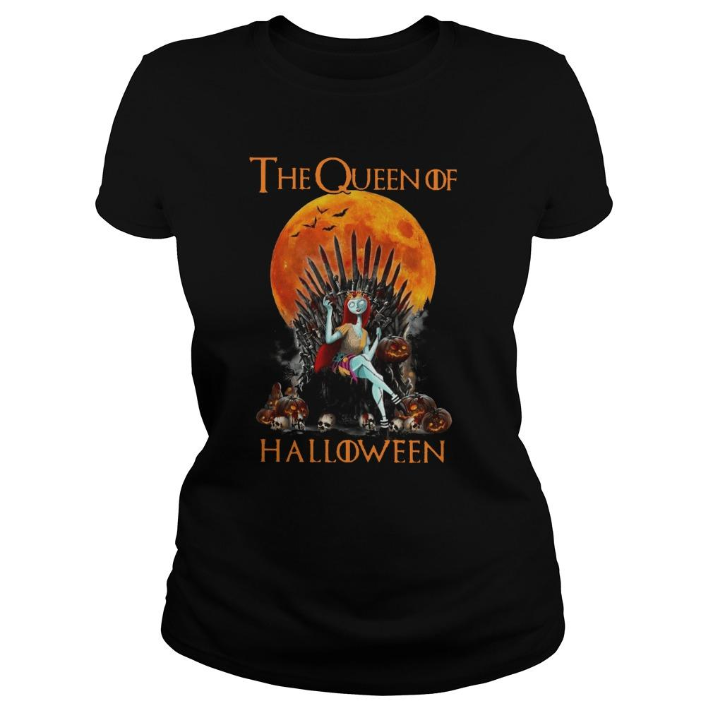 Iron Throne The Queen Of Halloween Sweater