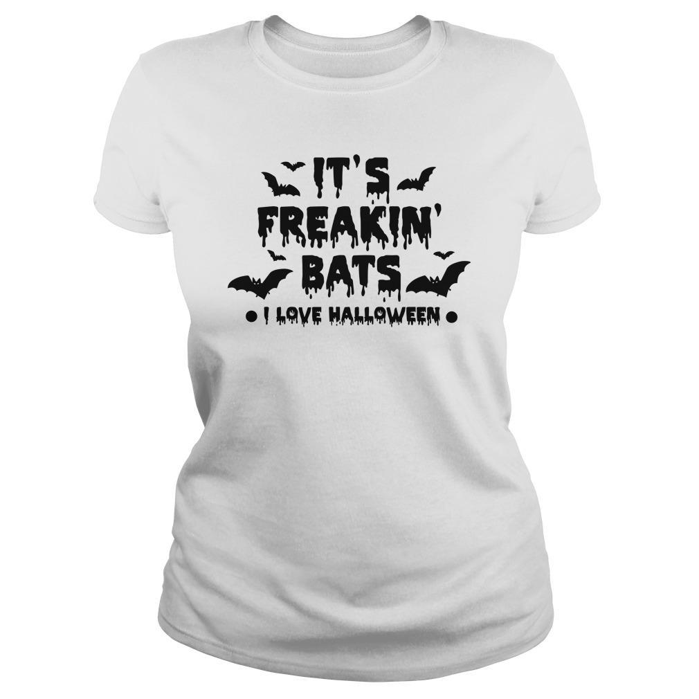 It's Freakin' Bats I Love Halloween Longsleeve