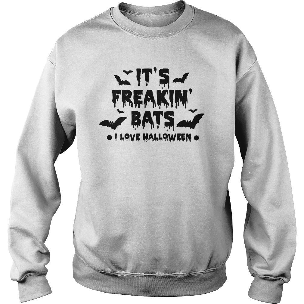 It's Freakin' Bats I Love Halloween Sweater