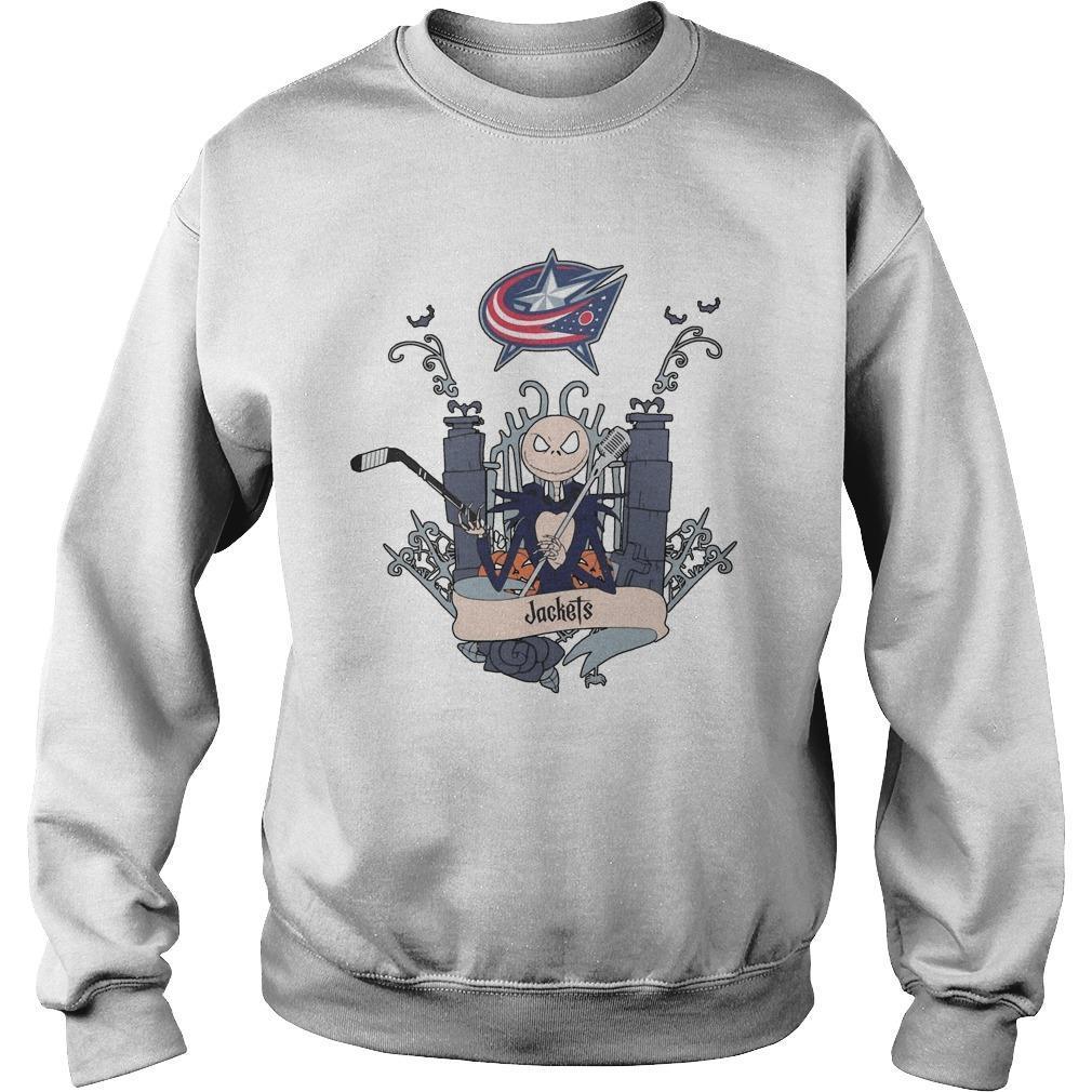 Jack Skellington Jackets Sweater