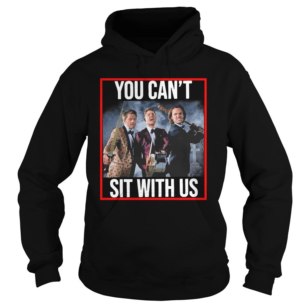 Jensen Jared Misha You Can't Sit With Us Hoodie