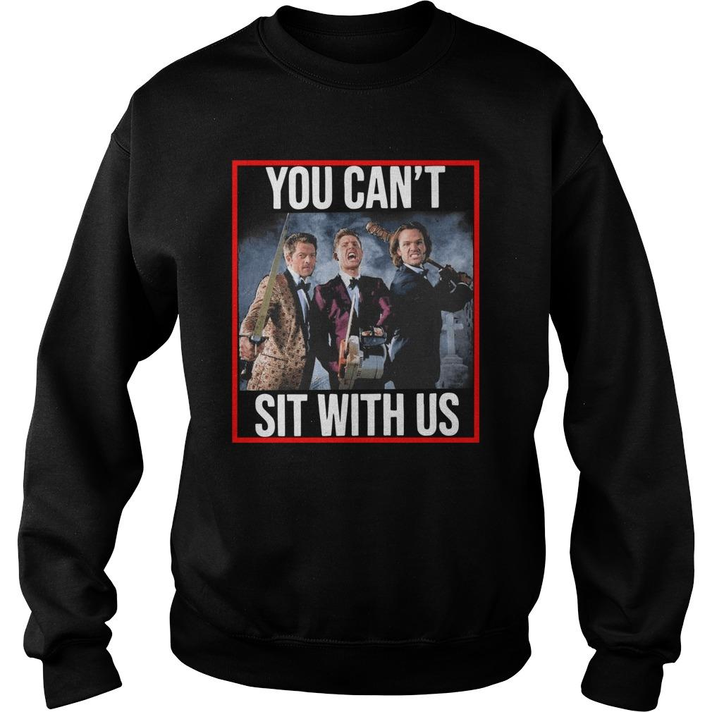 Jensen Jared Misha You Can't Sit With Us Sweater