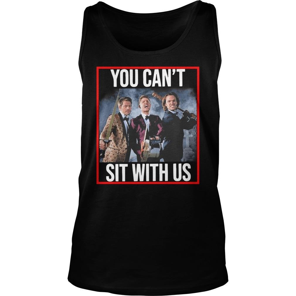 Jensen Jared Misha You Can't Sit With Us Tank Top