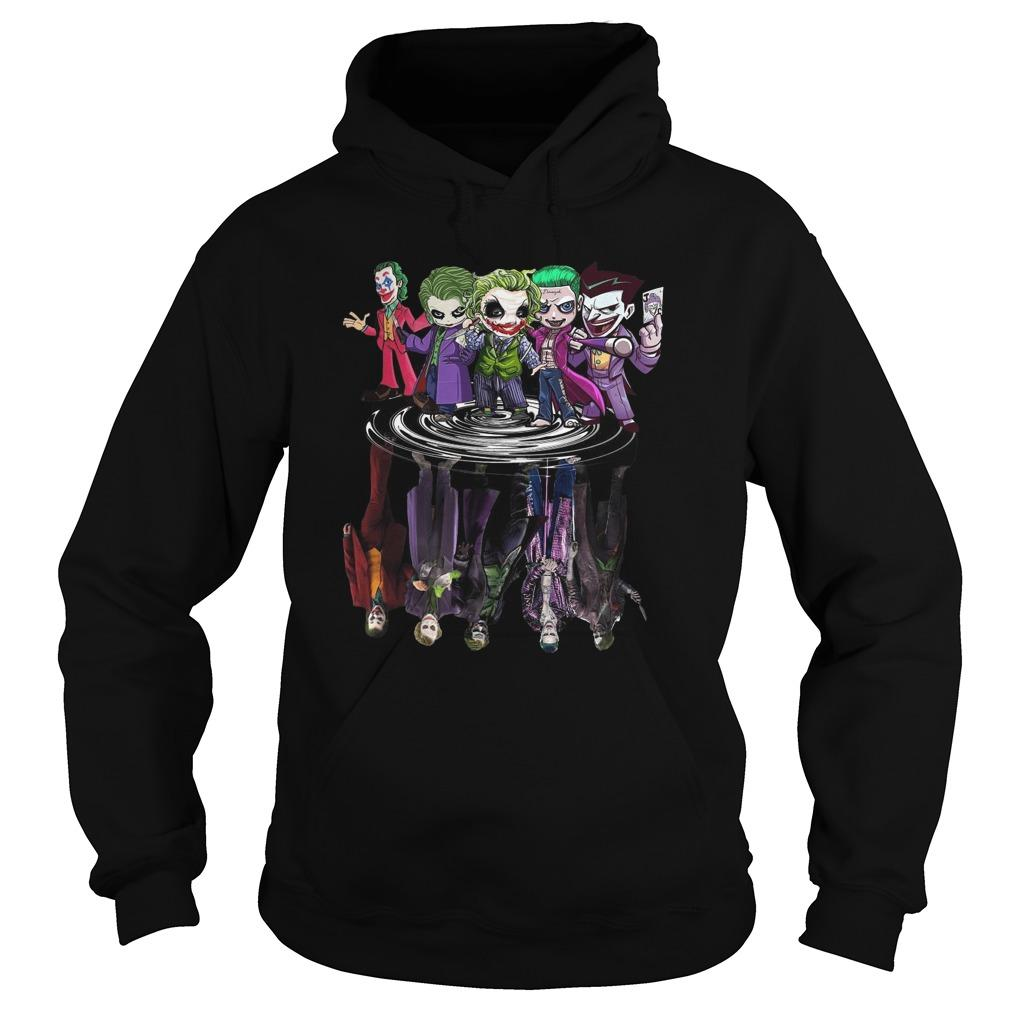 Joker All Season Chibi Water Reflection Hoodie