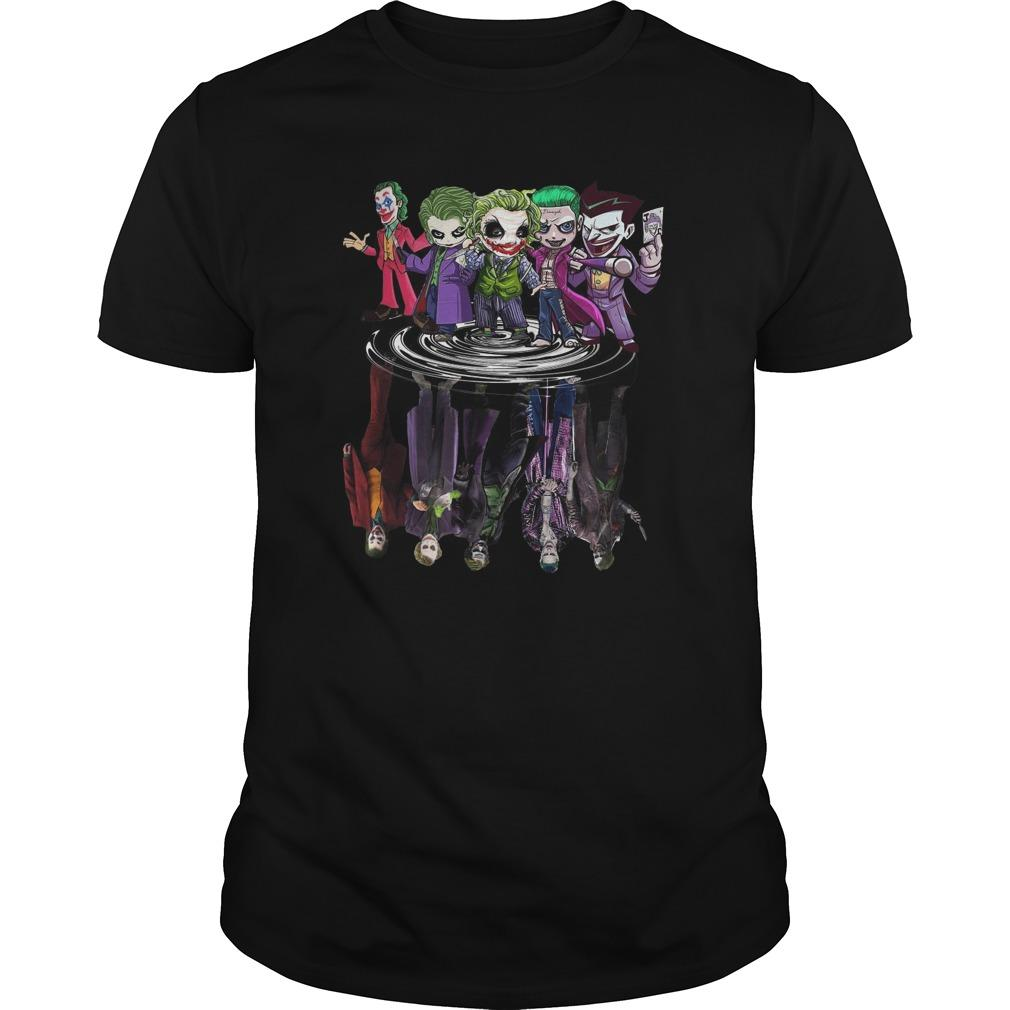 Joker All Season Chibi Water Reflection Longsleeve