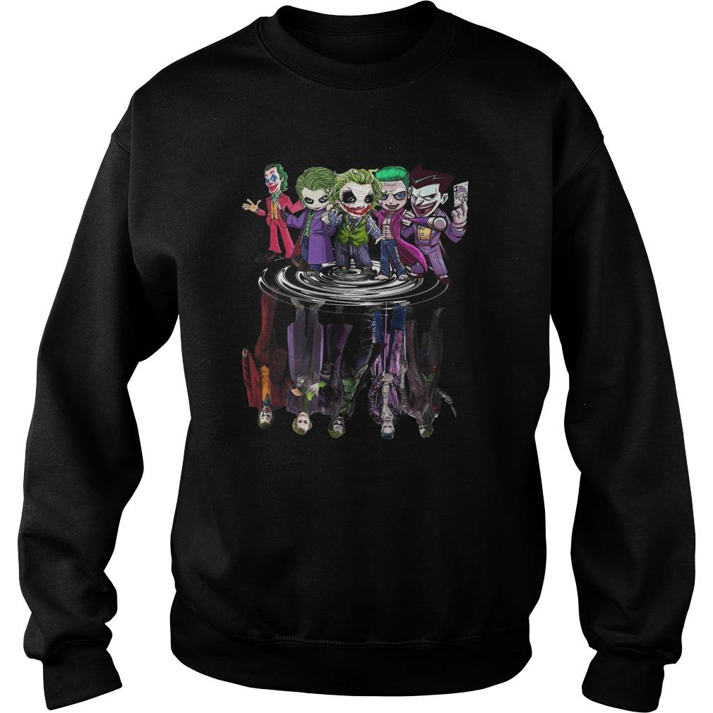 Joker All Season Chibi Water Reflection Sweater