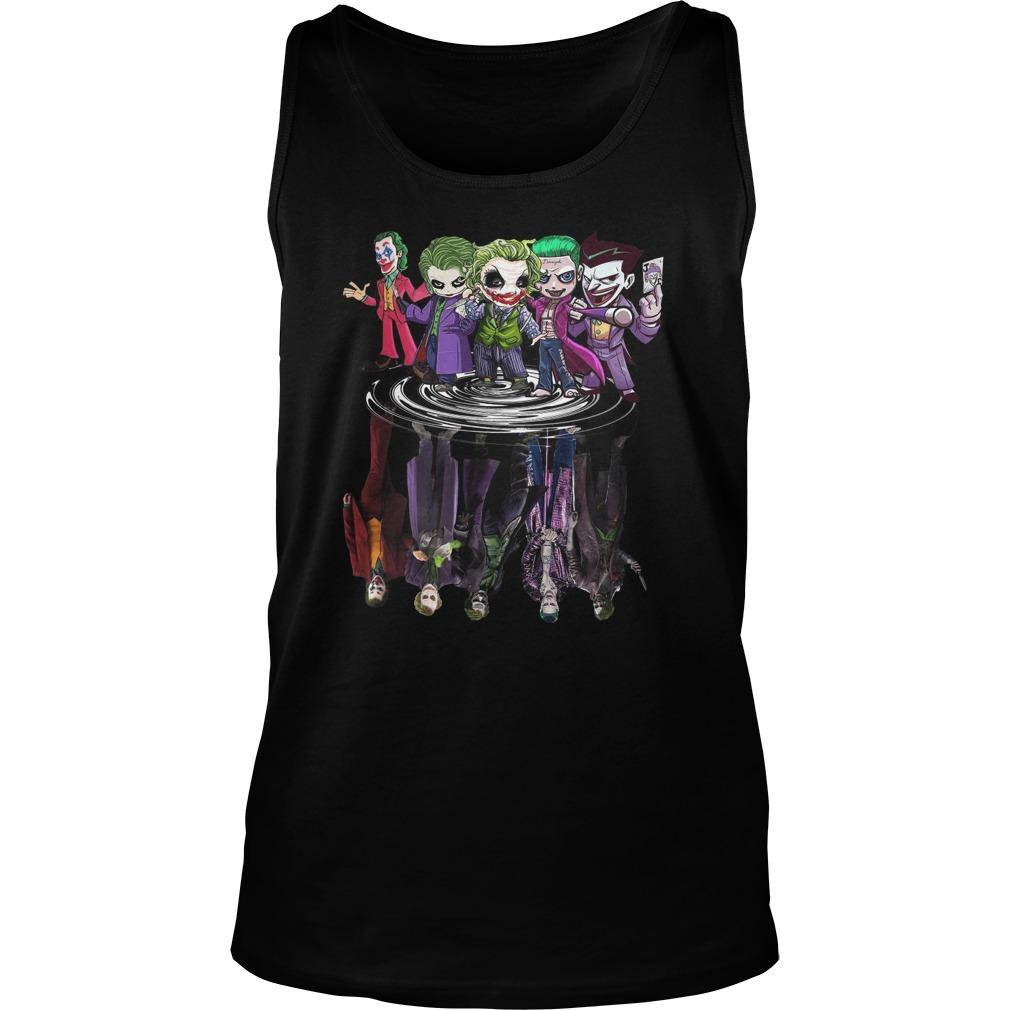 Joker All Season Chibi Water Reflection Tank Top