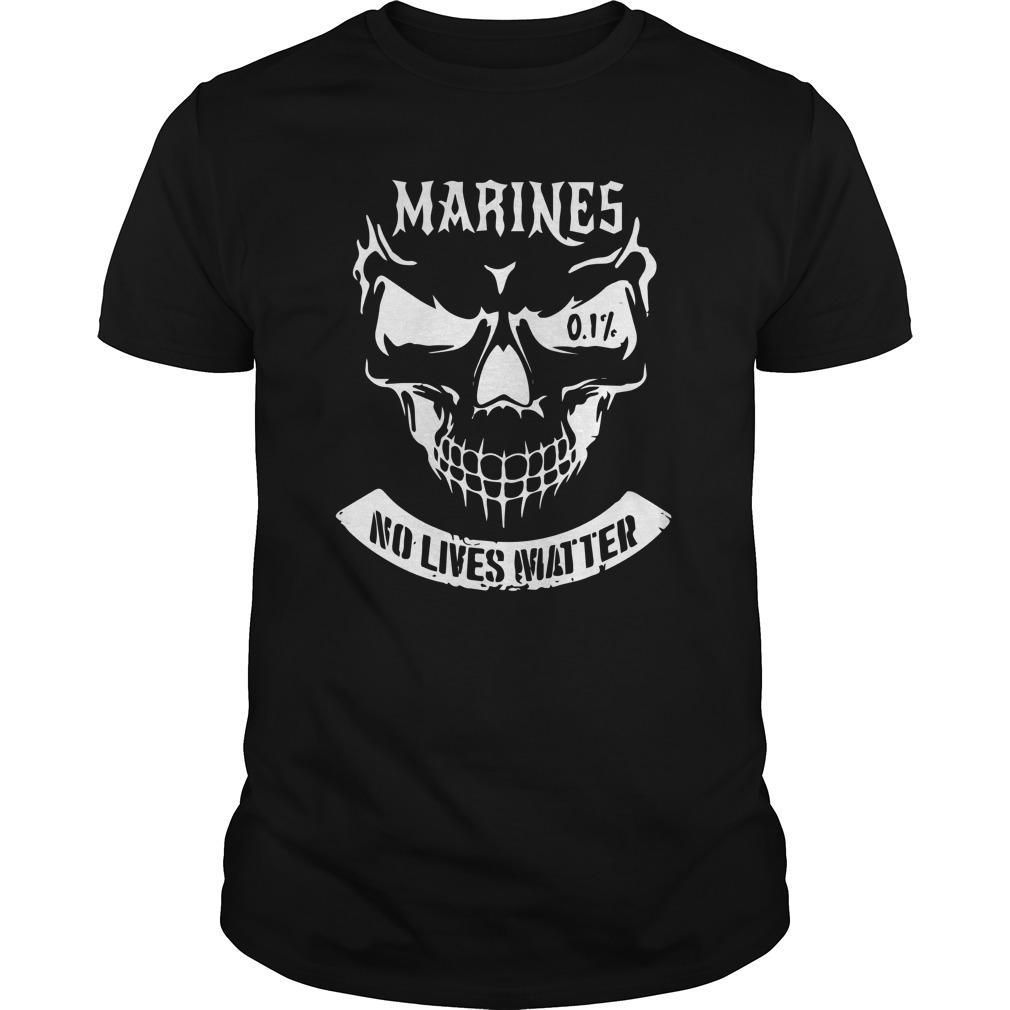 Marine No Lives Matter Longsleeve