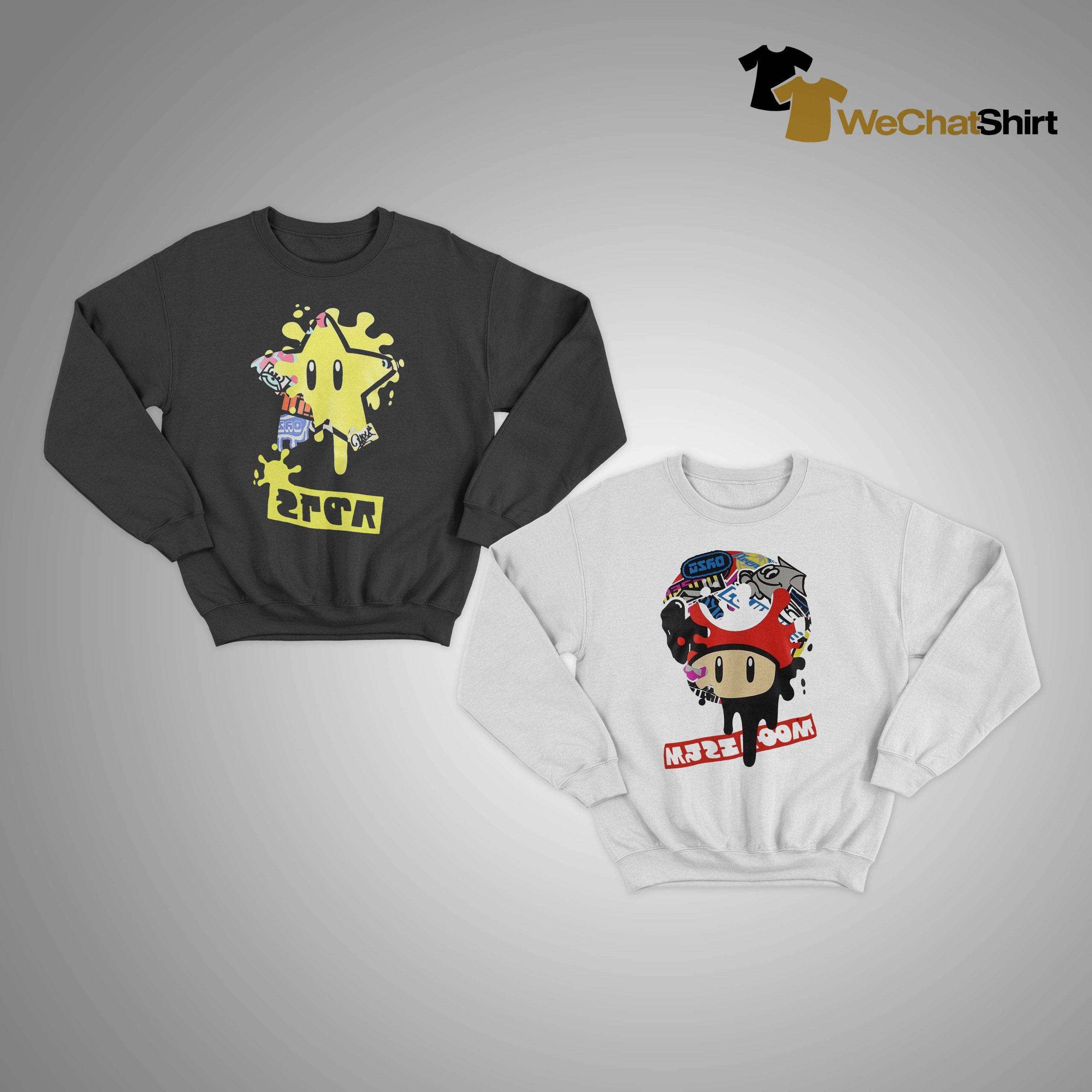Mario Splatfest Sweater