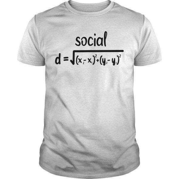 Math Formula Social Distance Shirt