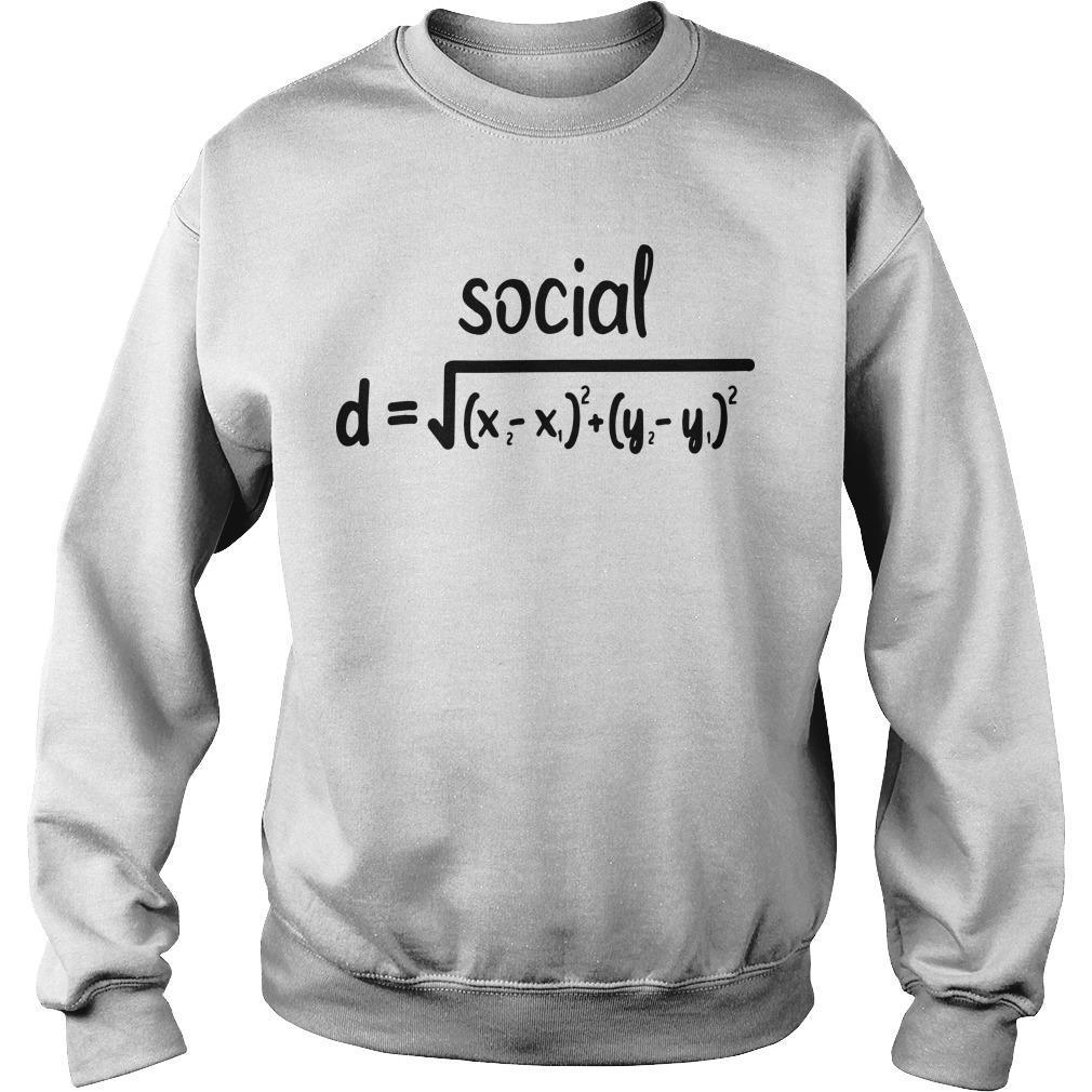 Math Formula Social Distance Sweater