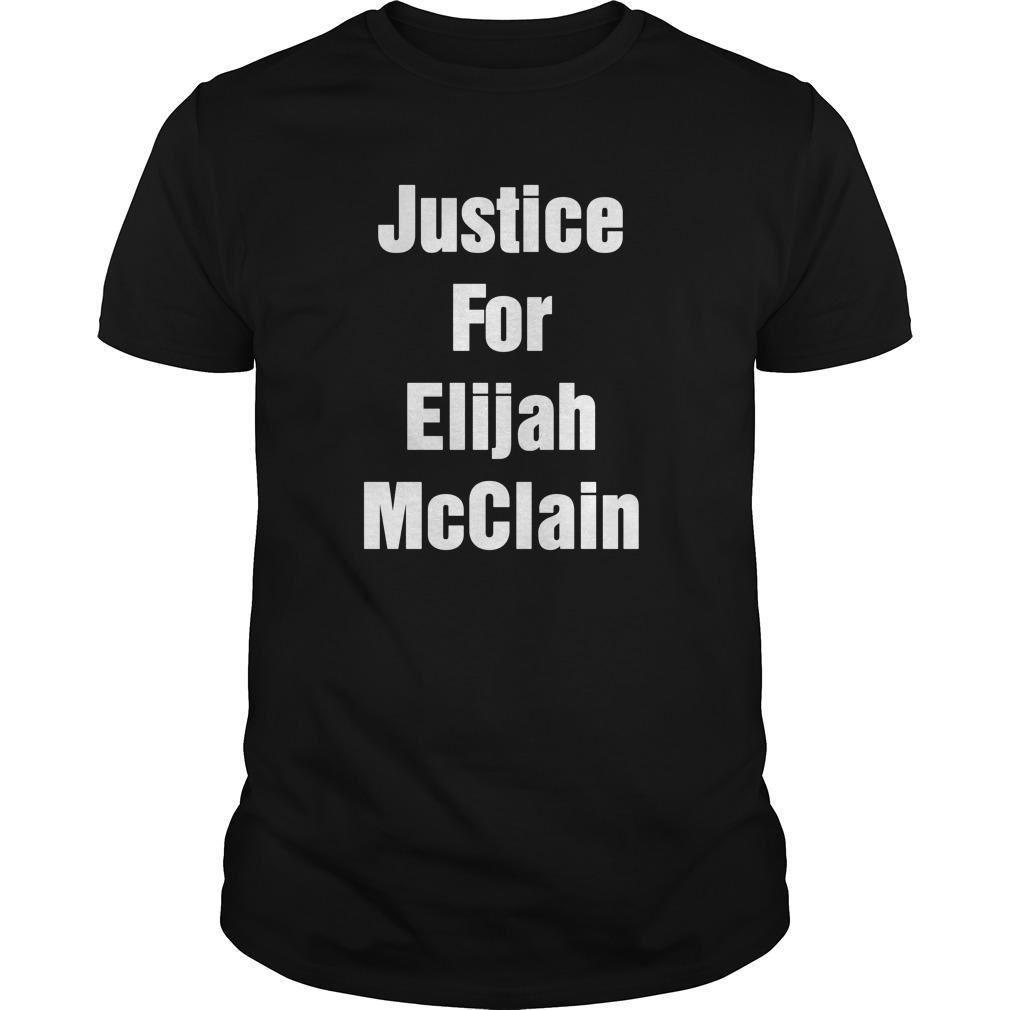 Michael Malone Justice For Elijah Mcclain Longsleeve