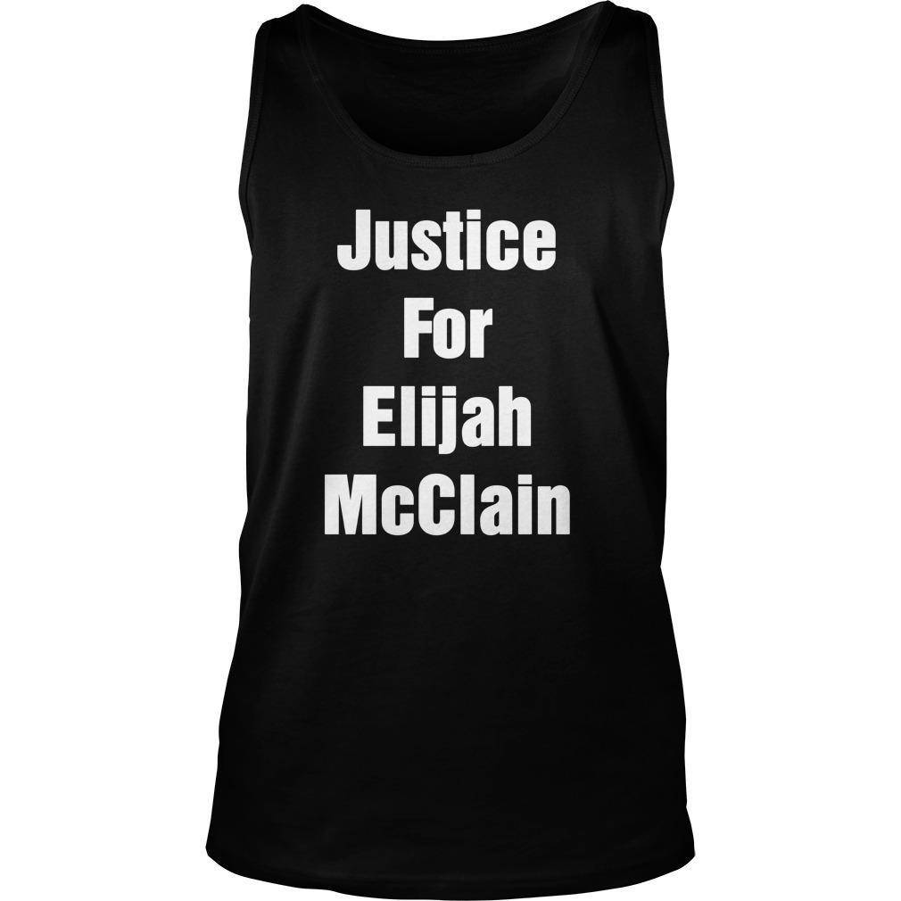 Michael Malone Justice For Elijah Mcclain Tank Top