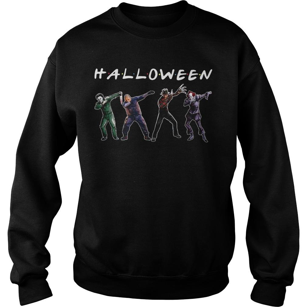 Michael Myers Jason Voorhees Freddy Krueger Pennywise Dabbing Halloween Sweater