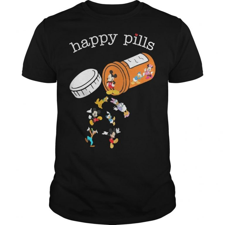 Mickey Mouse Happy Pills Shirt