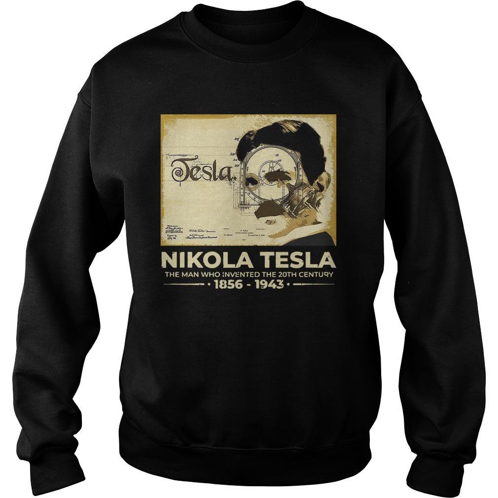 Nikola Tesla The Man Who Invented The 20th Century 1856 1943 Sweater