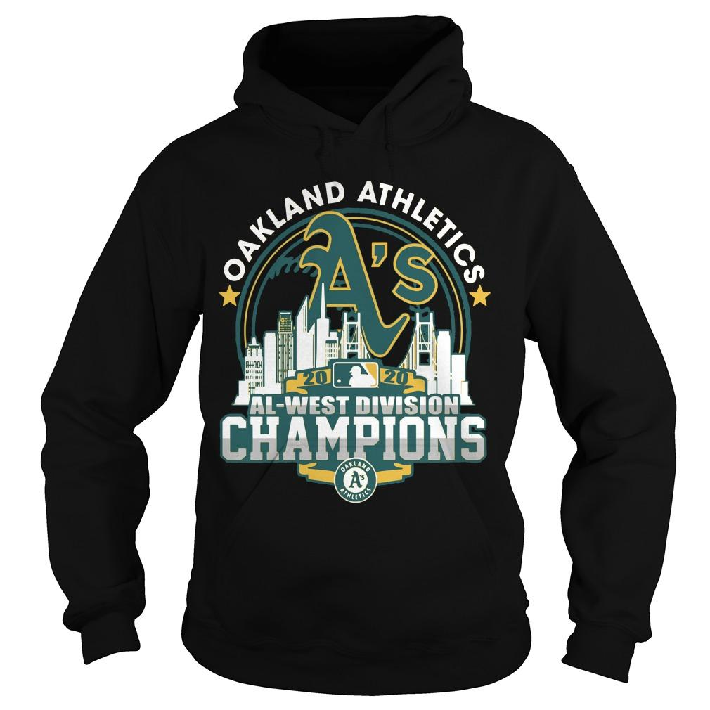 Oakland Athletics Al West Division Champions Hoodie