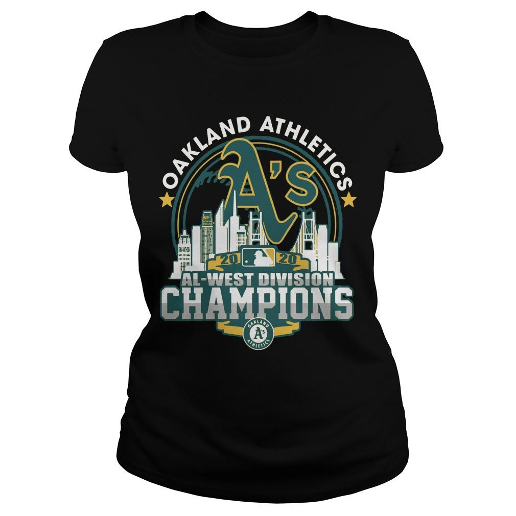 Oakland Athletics Al West Division Champions Longsleeve