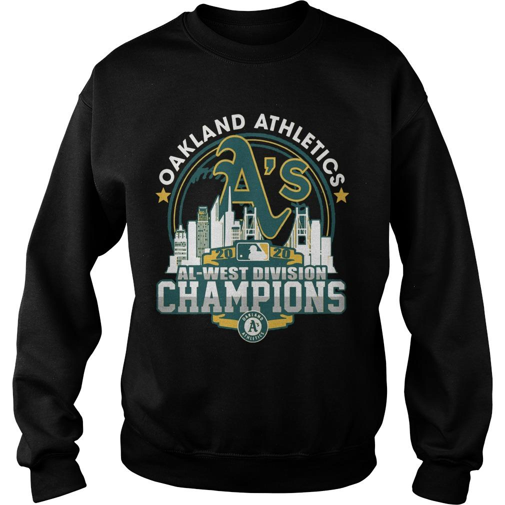 Oakland Athletics Al West Division Champions Sweater